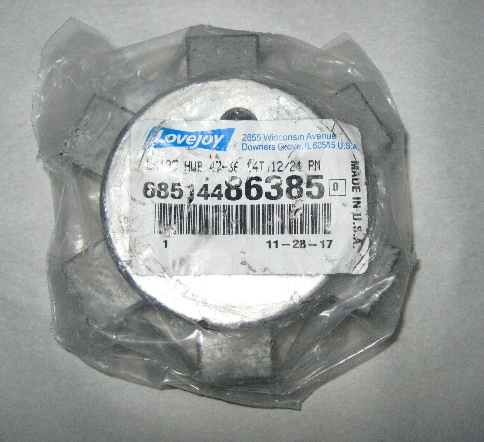 95.2 mm OD 35.0 mm Bore 3.3 mm x 10 mm Keyway 95.2 mm Overall Length Lovejoy 69790435073 Steel Hercuflex FXL Series M 2 Gear Hub 62.0 mm Length Through Bore 4406 Nm Maximum Torque