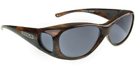 Jonathan Paul Polarized Sunglasses Fit-overs Lotus Brushed Horn Ls002 Medium