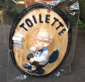 Handmade-Ceramic-Funny-Old-Man-Restroom-Toilet-Sign-Wall-Home-Decor-Funny-Gift