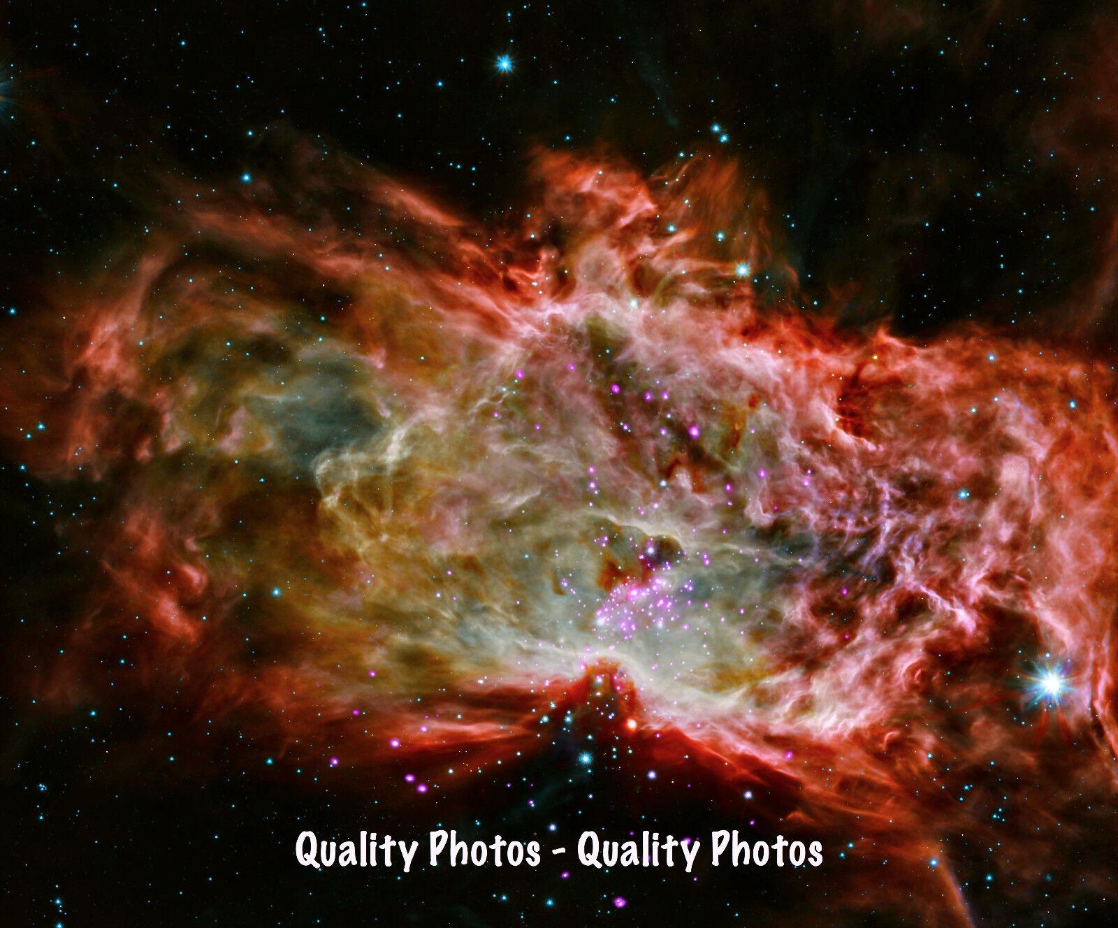 T1649 Silk Poster The Solar System Science Galaxy Space Stars Nebula Art Print