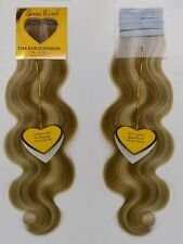 """18"""" SuperRemi Tape-In Tabs Body Wave 100% Human Remi Hair Extensions"""