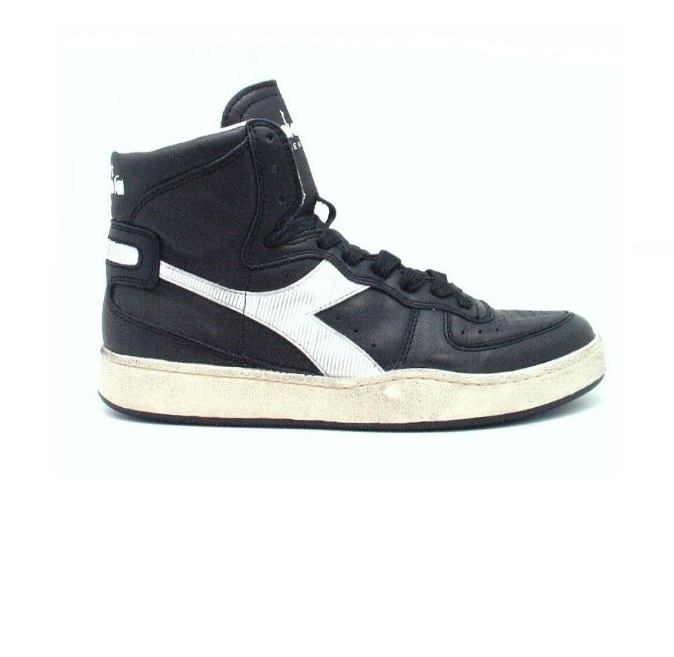 Diadora Basket Used, Sneakers Pallacanestro modello Vintage, shoes in Pelle