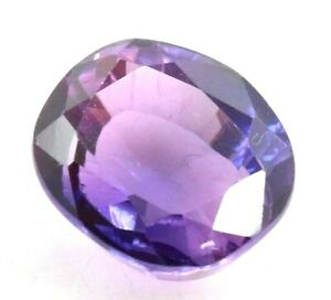 8.15 Ct Natural Purple Sapphire Oval Cut Certified Loose Gemstone