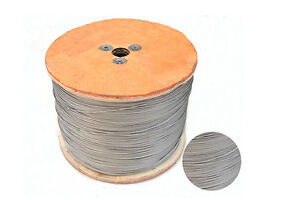 100 Meters SS304 OD 0.3MM 7*7 Stainless Steel Wire Rope Fishing Wire ...