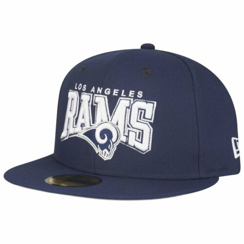 New Era 59Fifty Fitted Cap NFL Los Angeles Rams navy