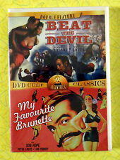 Beat the Devil /My Favorite Brunette ~ New DVD Movie ~ Cult Classic Sealed Video