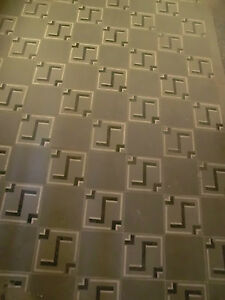 Antike Bodenfliesen Fliesen 10 M Bauhaus Stil Ausgebaut Ebay