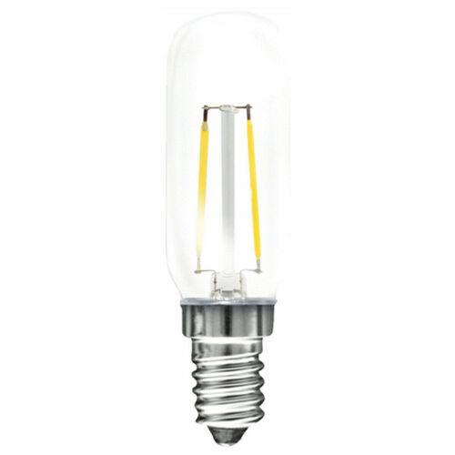 mlight LED Filament Leuchtmittel Röhre T25 2W E14 klar 220lm warmweiß 2700K