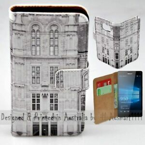 For-Nokia-Series-Vintage-Building-Theme-Print-Wallet-Mobile-Phone-Case-Cover