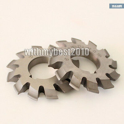 M0.8 20 degree #6 Cutting Range 35-54 Teeth HSS Module 0.8 Involute Gear Cutter