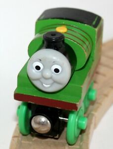 Details About Genuine Thomas Friends Wooden Train Railroad Little Engineers Percy