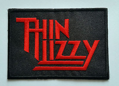IRON ON PATCH: PUNK ROCK METAL MUSIC SEW ON BLACK STAR RIDERS THIN LIZZY