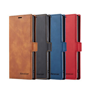For-Samsung-Galaxy-Note-10-Plus-S10-Magnet-Leather-Wallet-Case-Card-Pocket-Cover