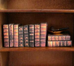 1:12-6 Miniature Books-Duel of knowledge 013