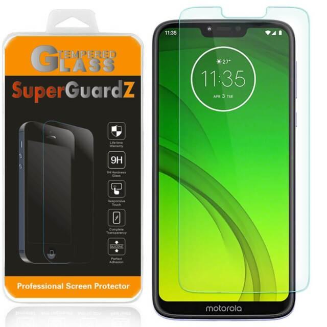 SuperGuardZ Tempered Glass Screen Protector Guard For Motorola Moto G7 Power