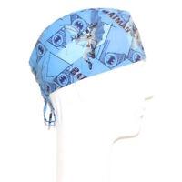 Batman On Sky Blue Theme Scrub Hat