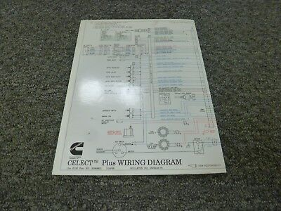 [SODI_2457]   1996-1998 Cummins N14 Celect Plus Engine Electrical Wiring Diagram Manual  1997 | eBay | Cummins N14 Wiring Schematic |  | eBay