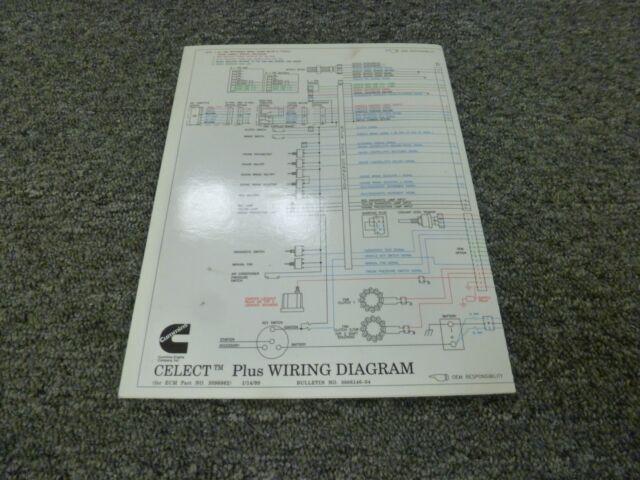[SCHEMATICS_48IU]  1996-1998 Cummins N14 Celect Plus Engine Electrical Wiring Diagram Manual  1997 for sale online | Cummins N14 Ecm Wiring Harness |  | eBay
