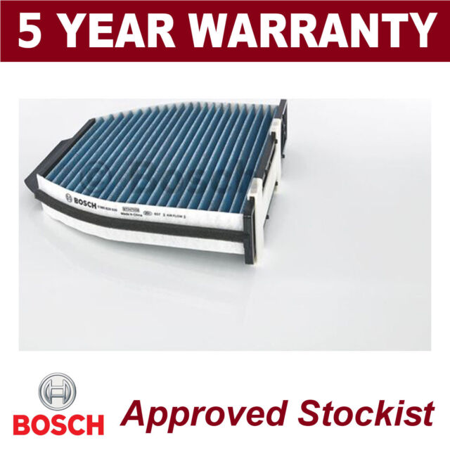 0986628500 FILTER, INTERIOR AIR BOSCH CHARCOAL FILTER, WITH A