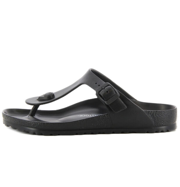 Womens Birkenstock Gizeh Eva Black Regular Fit Toe Post Sandals Shu Size UK 8 EU 42
