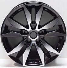 """Set of 4 Chevy Malibu 2016 2017 Black 18"""" Replica Wheel Rim TN 5716 97514"""