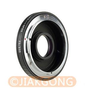 CANON FD Lens to EOS EF Body Mount Adapter 450D 50D 5D 60D 70D | eBay