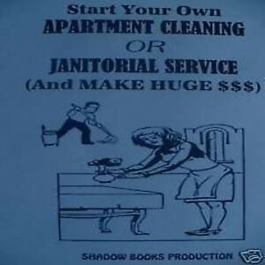 Details about Start your Own Apartment Cleaning/Janitorial Service business  book