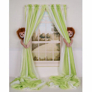 Curtain-Critters-Designer-Nursery-Kids-Room-Decor-LION-CURTAIN-TIEBACK-HOLDBACKS