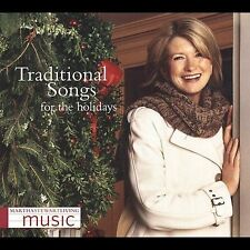 Martha Stewart Living Music CD Traditional Songs for the Holidays Free Shipping