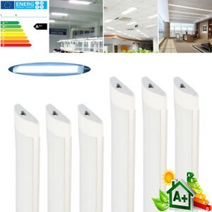 10x-8x-4x-4FT-3FT-2FT-Neon-tube-LED-lineaire-Lumiere-plafond-surface-monte