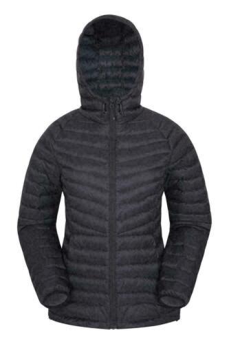 Mountain Warehouse Skyline Extreme Down Jacket Noir Nouveau 10 RRP £ 160 Chaud lumière