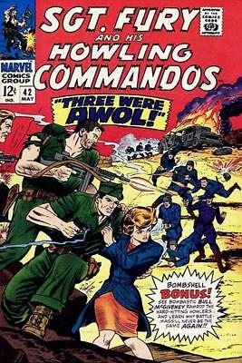 FURY 42 SERGEANT 1963 SERIES HOWLING COMMANDO NICK SGT