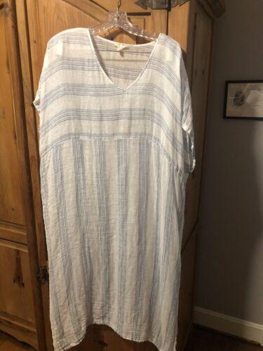 Eileen Fisher Organic Linen Dress L/XL