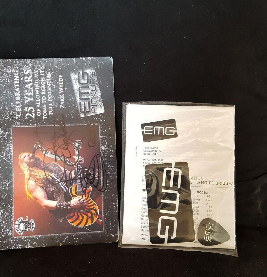 Humbucker Pickups, EMG EMG Zakk Wylde Bullseye Gold Ltd.