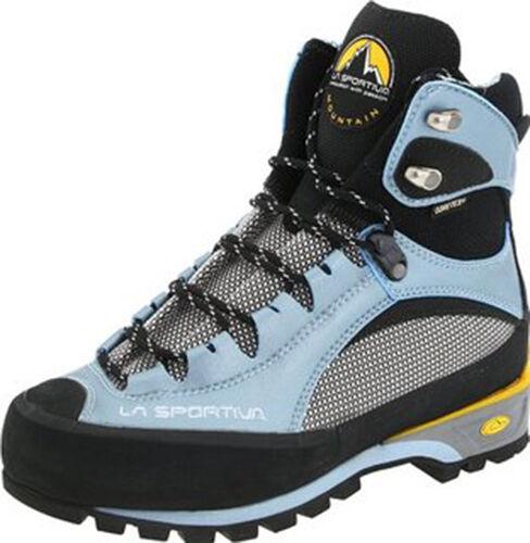 La Sportiva Mujer Trango Alp Evo GTX Senderismo Zapato (38) Acero Azul