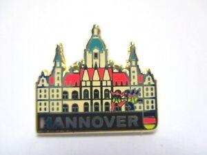 Hannover-Niedersachsen-Pin-Anstecker-Metall-Germany-Druckverschluss