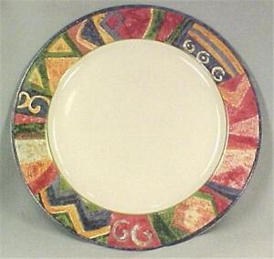 Colorful Stoneware Platter