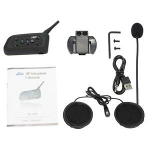 bt bluetooth motorrad helm interphone intercom headset v6. Black Bedroom Furniture Sets. Home Design Ideas
