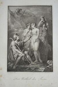 F-STOBER-1795-1858-BELLE-GRAVURE-PARIS-MYTHOLOGIE-NEOCLASSIQUE-EMPIRE-1815-a