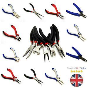 Jewellery-Making-Pliers-DIY-Craft-Tools-UK-Seller-Bent-Chain-Round-Nose-etc-ML