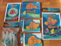 6pc Lot Party Express Finding Nemo Birthday Party Goods Multi-color