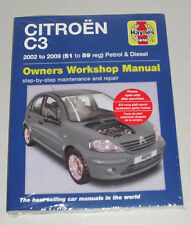 Reparaturanleitung Citroen C3 Benziner + Diesel, Baujahre 2002 - 2009