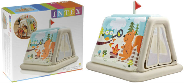 online retailer b9c5c 41dc9 Intex Inflatable 48634np Play Tent Animal Trails Indoor