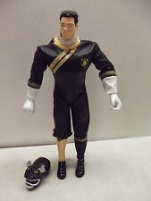 "POWER RANGERS WILD FORCE 12"" TALKING DANNY BLACK BISON ACTION FIGURE & HELMET"