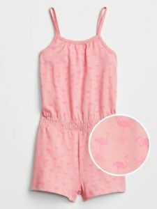 NWT BABY GAP GIRLS PAJAMAS SHORTS pink flamingo    u pick size