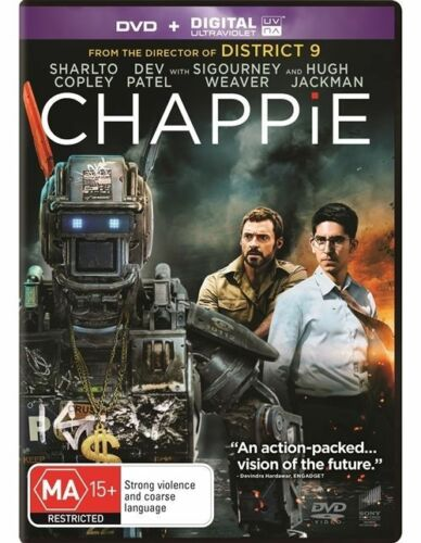 1 of 1 - Chappie (DVD, 2015) NEW R4