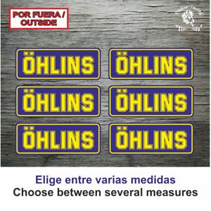 Sticker-Vinilo-Decal-Vinyl-Aufkleber-Adesivi-Autocollant-Ohlins-Suspension-AZOSS