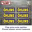 Sticker-Vinilo-Decal-Vinyl-Aufkleber-Adesivi-Autocollant-Ohlins-Suspension-AZOSS miniatura 1