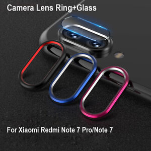 For-Xiaomi-Redmi-Note-7-Back-Camera-Protector-Lens-Case-Ring-Cover-Glass-Film-2H