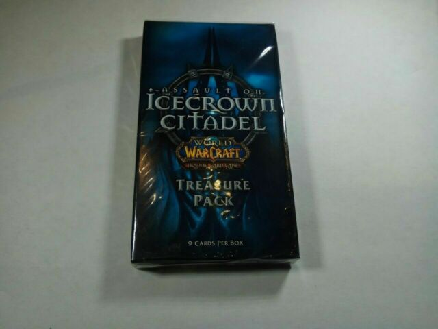WOW WORLD OF WARCRAFT TCG CAVERNS OF TIME TREASURE PACK BOX NEW SEALED